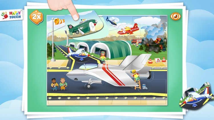 AIRCRAFT-PUZZLE Happytouch®