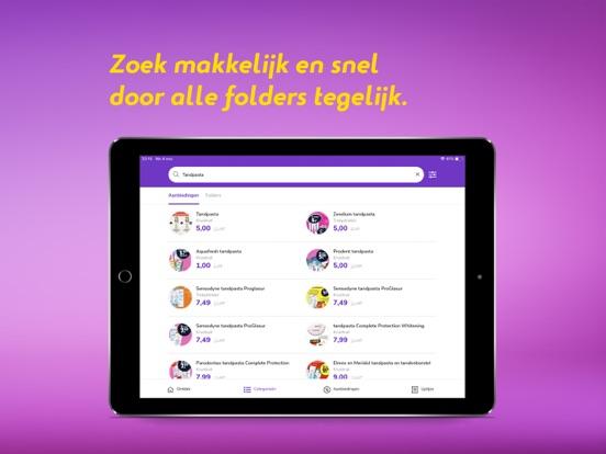 Reclamefolder iPad app afbeelding 4