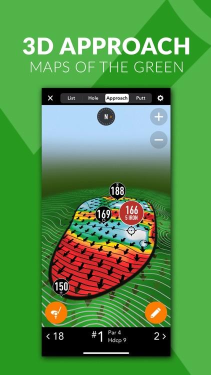 GolfLogix Golf GPS + Putt Line screenshot-3