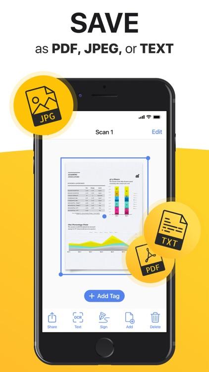 Scanner App: Scan Docs, Notes