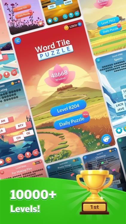Word Tile Puzzle: Tap to Crush screenshot-5