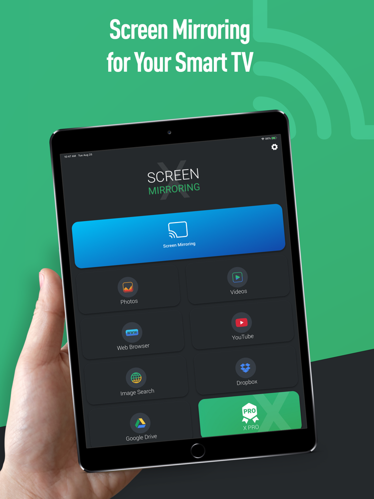 Screen Mirroring X: Smart View App for iPhone - Free ...