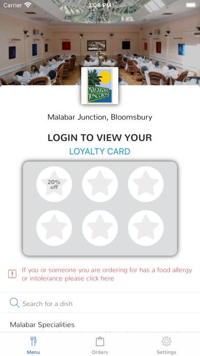 Malabar Junction, Bloomsbury screenshot 1