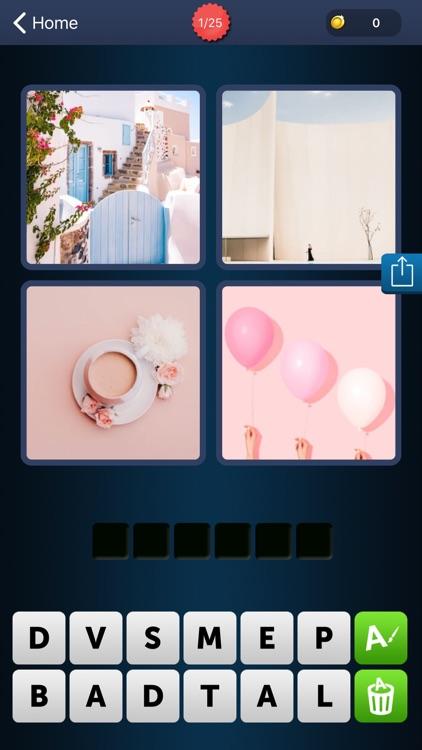 1 Word 4 Pics: Brain Challenge screenshot-3