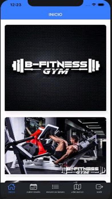 B-fitnessGym screenshot 2