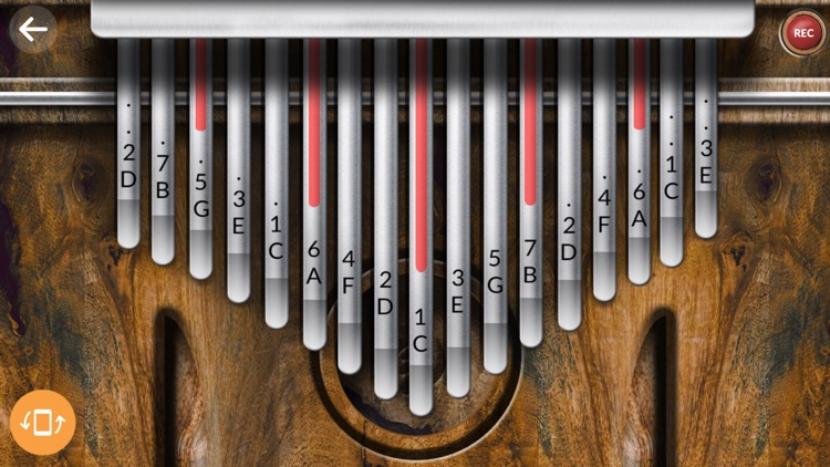 Real Kalimba screenshot-1