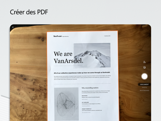 Microsoft Office iPad captures décran