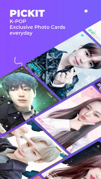 PICKIT : KPop Idol Photo Cardsのおすすめ画像1