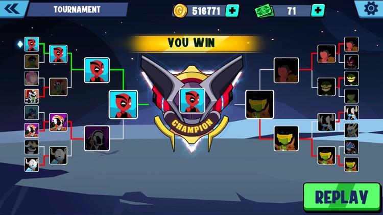 Stickman Heroes Fight screenshot-7