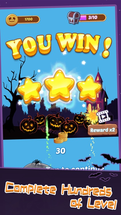 Bubble Town Halloween screenshot-3