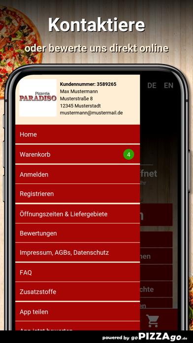 Pizzeria Paradiso Schwerte screenshot 3