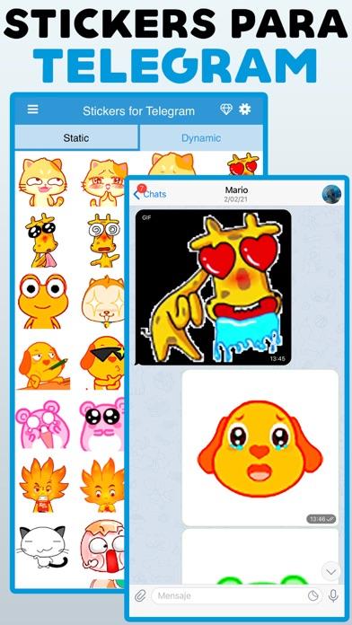 Stickers for Telegram · screenshot 1