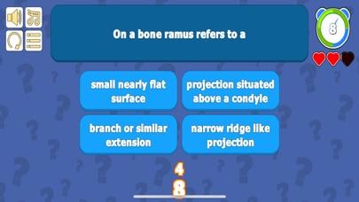 Skeletal System Quiz & Anatomy screenshot 5