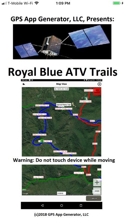 Royal Blue ATV Trails