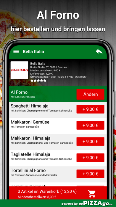 Bella Italia Frechen screenshot 6