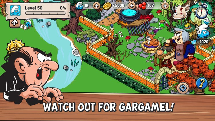 Smurfs' Village screenshot-0