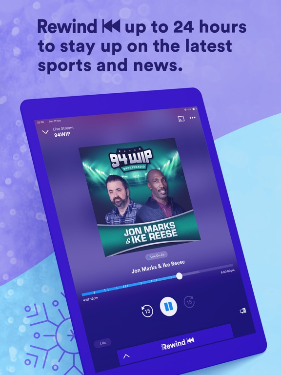 RADIO.COM iPad