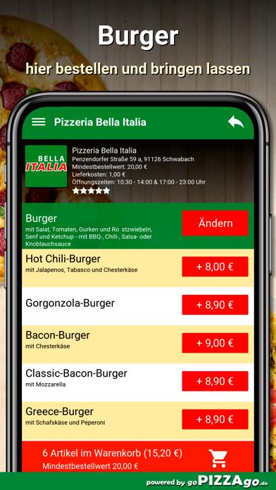 Bella Italia Schwabach screenshot 2