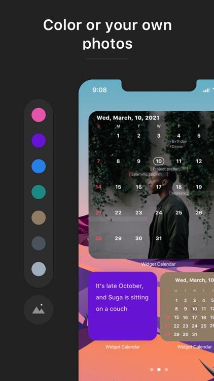Widget Calendar screenshot-5