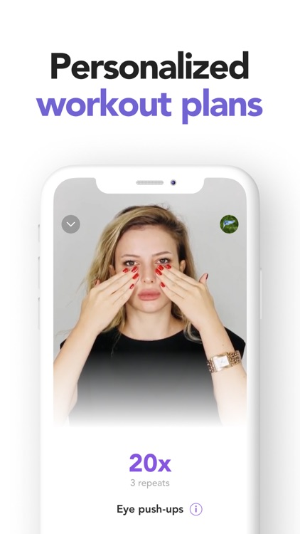 Glowio: Face Yoga & Exercises