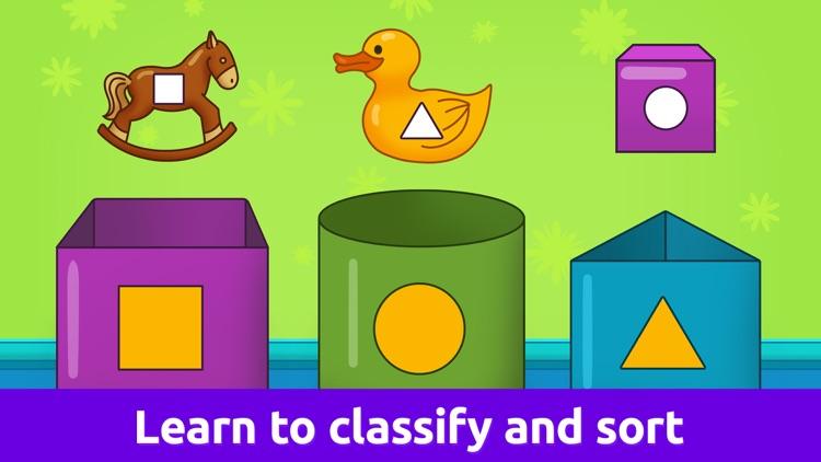Baby Games: Shapes & Colors screenshot-5