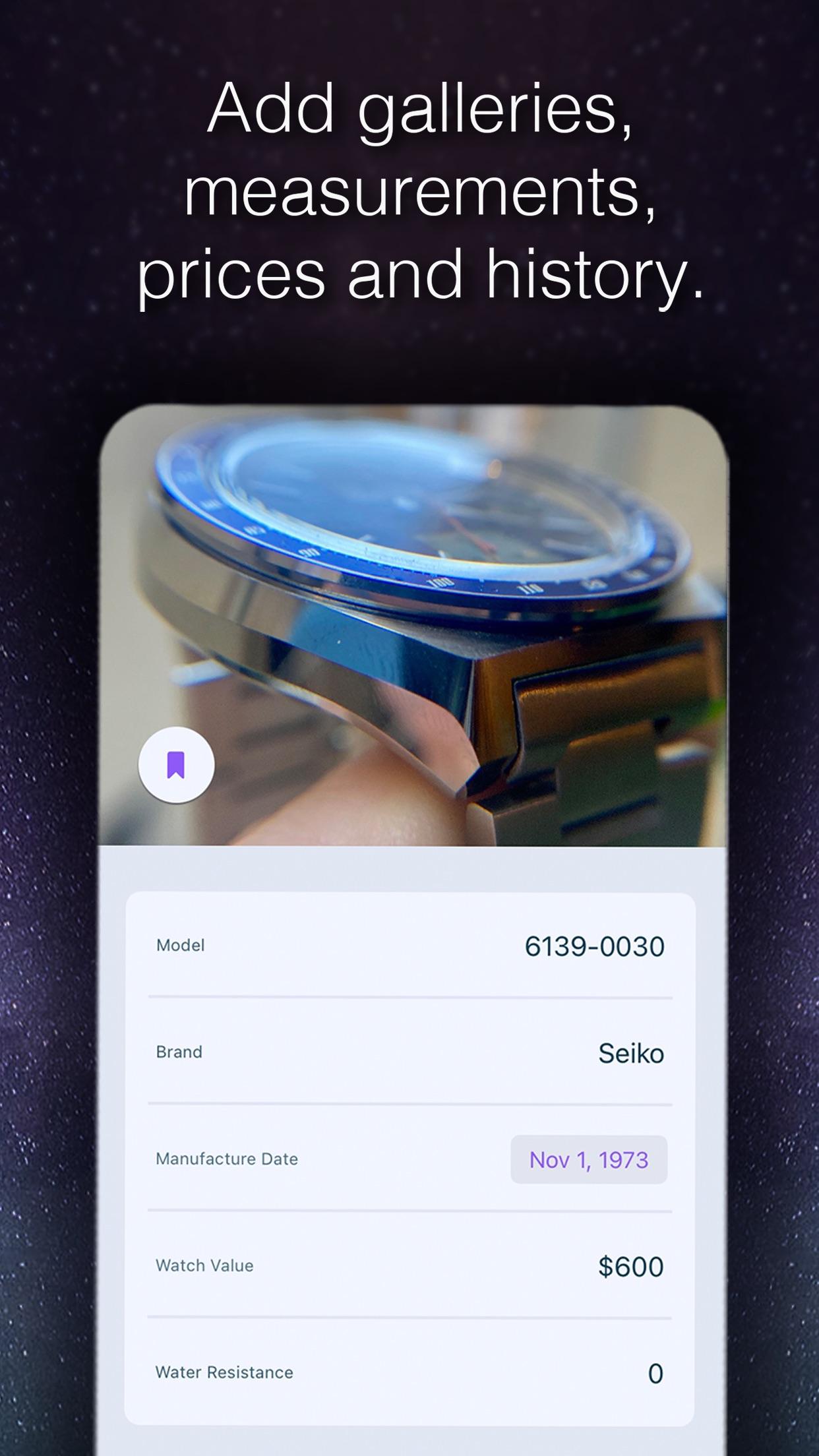 Screenshot do app Watch Case