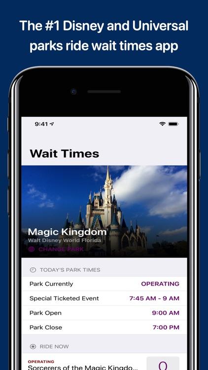 Wait Times for Disney Parks