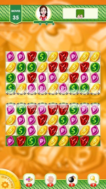 Match 3 Coin Jewel Blast screenshot-5