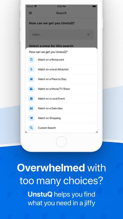 UnstuQ - Make Decisions Fun screenshot-3
