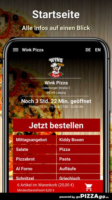 Wink Pizza Leipzig screenshot 2