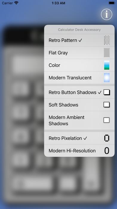 Calculator Desk Accessory screenshot 2