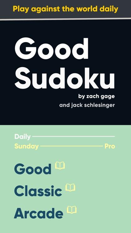 Good Sudoku by Zach Gage screenshot-5