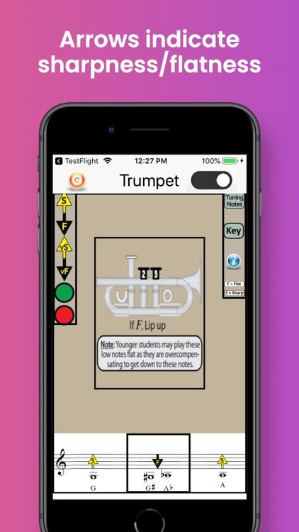 Trumpet Fingering & Tuning