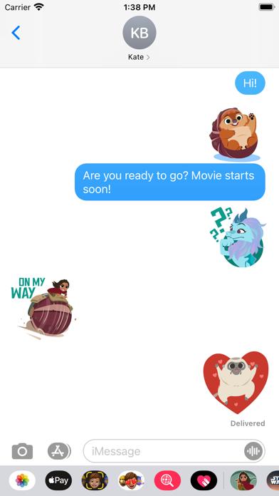 Disney Stickers: Raya screenshot 4