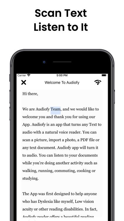 Audiofy -News Book Text Reader screenshot-6