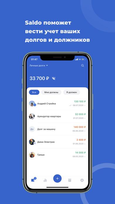 Долги, займы, кредитыСкриншоты 1