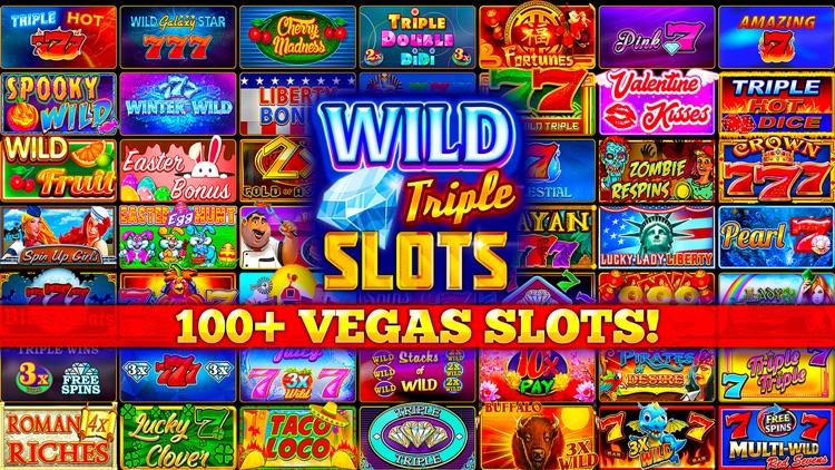 Wild Triple 777 Slots Casino
