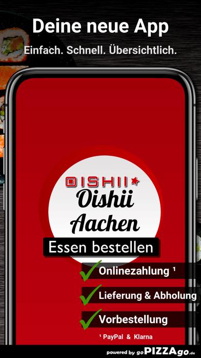 Oishii Aachen screenshot 1