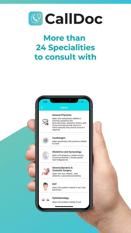 CallDoc-Consult Doctors Online screenshot-3