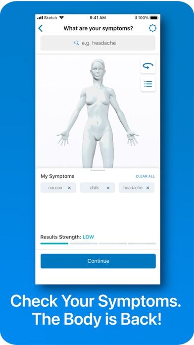 WebMD: Symptoms, Rx, & Doctors screenshot one