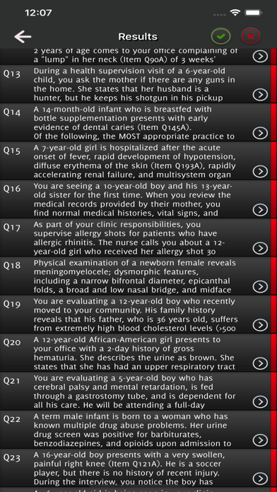 Pediatrics Exam Practice screenshot 4