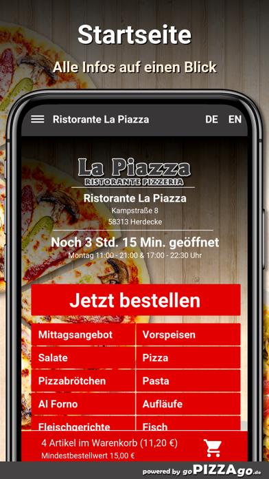 Ristorante La Piazza Herdecke screenshot 2