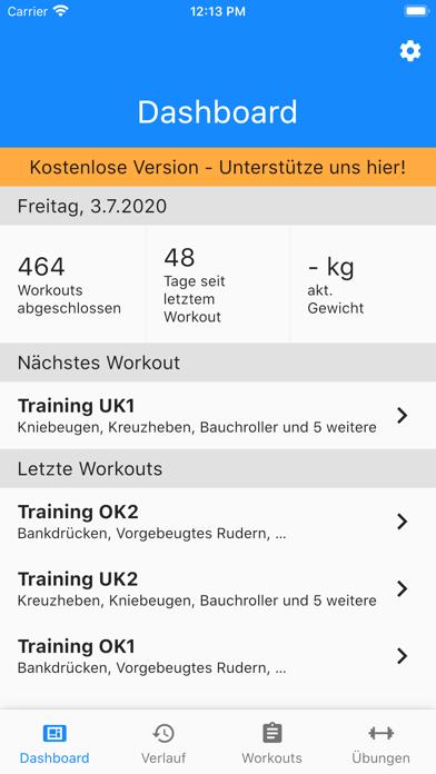 GymTime Workout TrackerScreenshot von 3