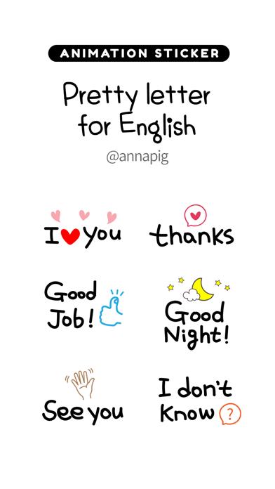 Pretty letter for English screenshot 1