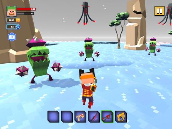 Fire Craft: 3D Pixel World screenshot 10