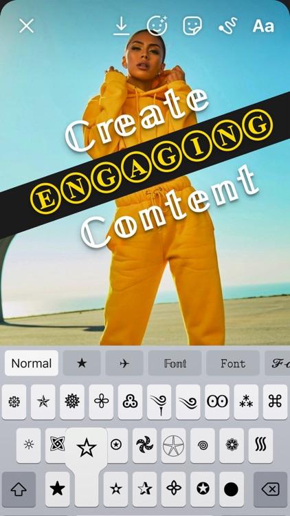 Fonts for iPhone & Keyboard screenshot-5