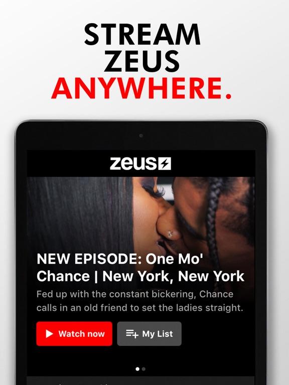 iPad Image of The Zeus Network
