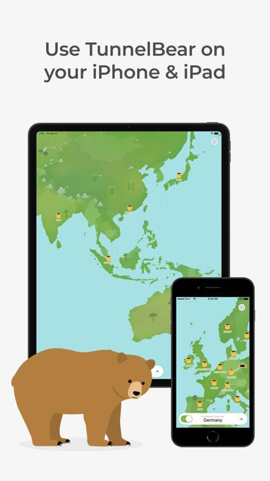 TunnelBear: Secure VPN & Wifi ScreenShot2