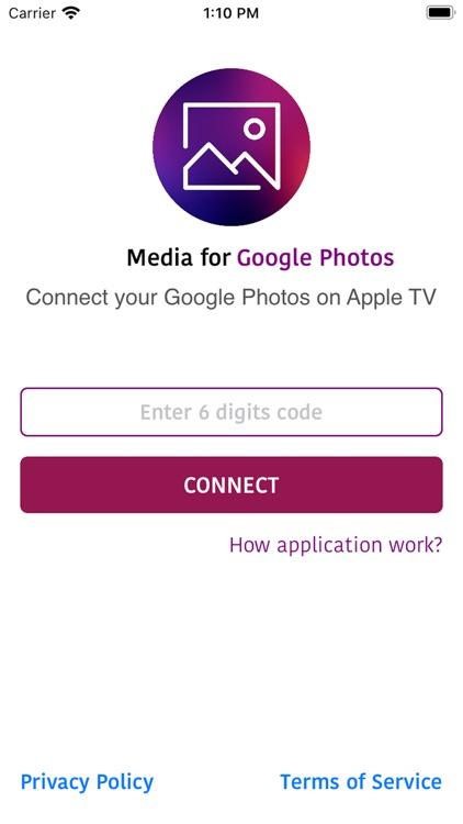 Media for Google Photos
