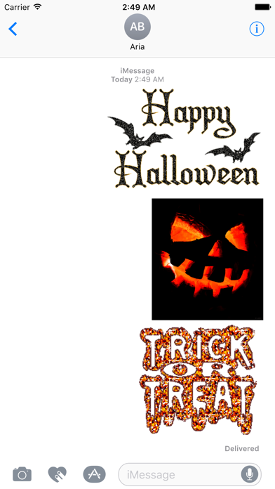 Happy Halloween Animated Gifs screenshot 1